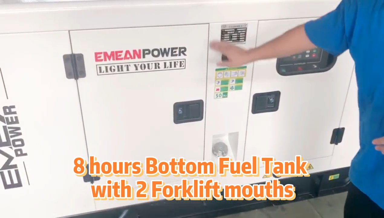25kva 20KW Super Silenzioso generatore Diesel set di fabbrica prezzo di vendita diretta