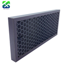Black Aluminum Activated Carbon Filter Prefilter For Honeycomb Carbon