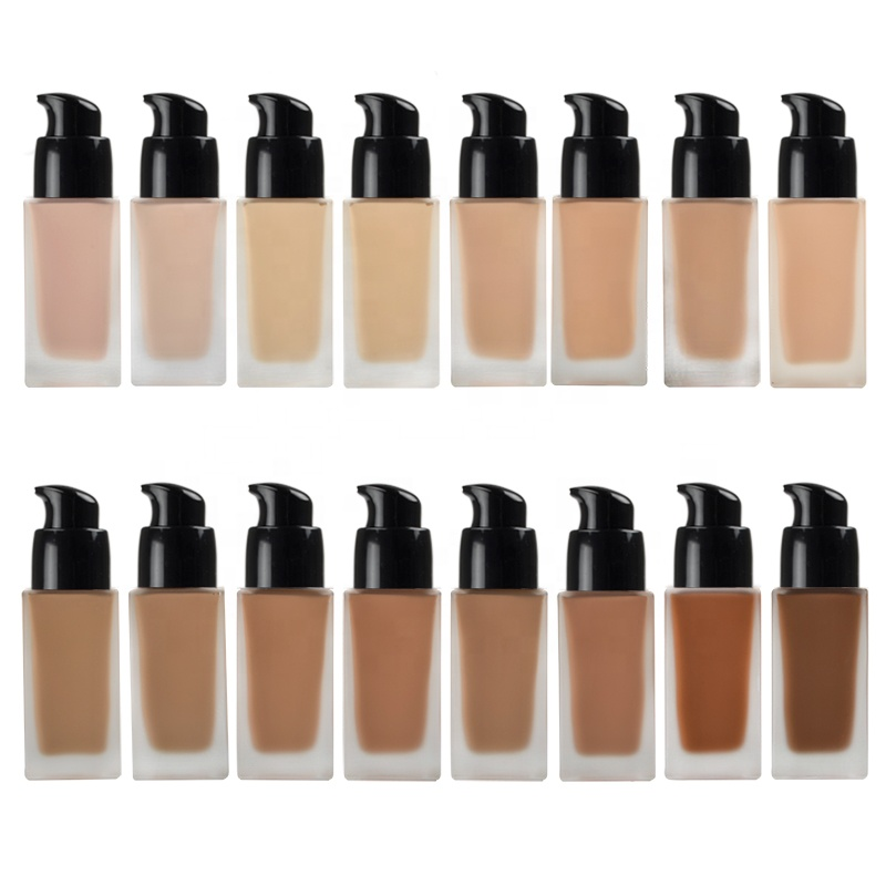 Beste Groothandel Biologische Private Label Vloeibare Custom Make Up Foundation