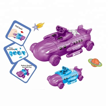 Super Space Force Pull Back DIY Disassembly Toy Car for Kids