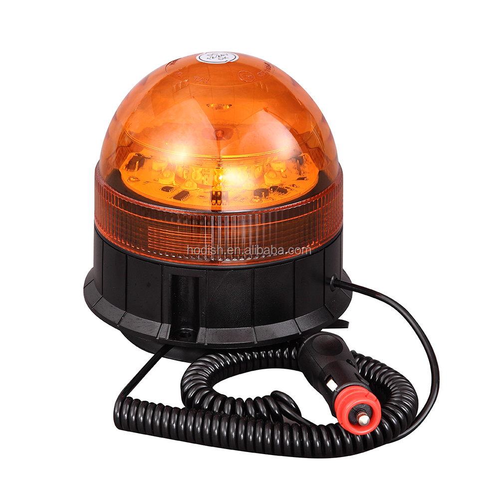 LED Car Truck Emergency Lights, 12V 24V LED Flash Rotating Beacon with ECE R65