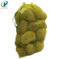 50kg pe mesh bag packing vegetable and onion