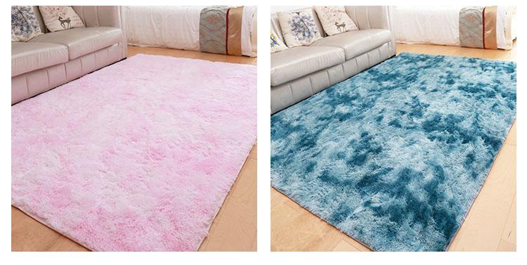 Home good quality plush floor carpet and rug
