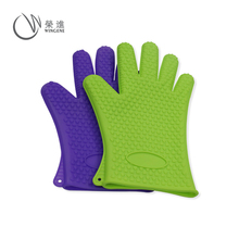 Hot Selling Food grade silicone finger protector oven <span class=keywords><strong>bbq</strong></span> grill mitt/Siliconen <span class=keywords><strong>BBQ</strong></span> Oven <span class=keywords><strong>Handschoenen</strong></span>
