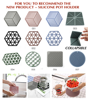 Multi-Purpose Table Placemats silicone trivet mats hot pads for Cooking