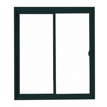 Noise Resistant Thermal Break Aluminum Alloy Low-E Double Glazing Block Sliding Windows