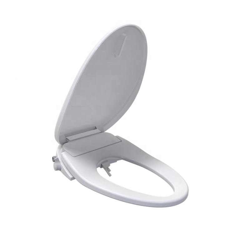 Smartmi TB002 — siège de bidet manuel de salle de bains, avec fermeture douce, non électrique, auto-nettoyage
