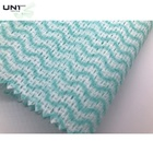 For Colorful Green Polyester/viscose Spunlace Nonwoven Fabric Roll Cleaning Cloth For Wet Wipes / Home Textile / Kitchen / Workshop