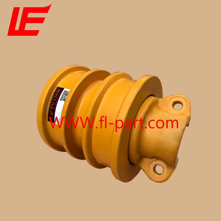 Bulldozer undercarriage for D3G track roller