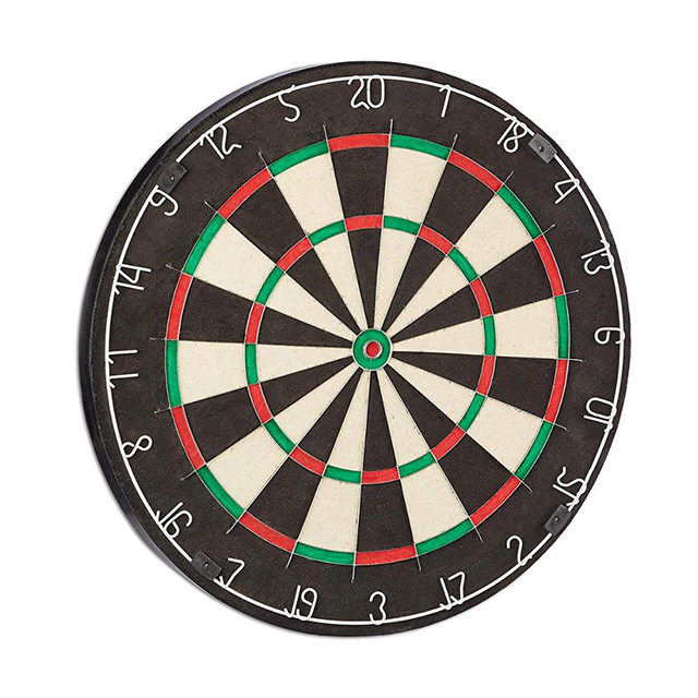 2020 new newest sisal 18-inch dart board is suitable for indoor games