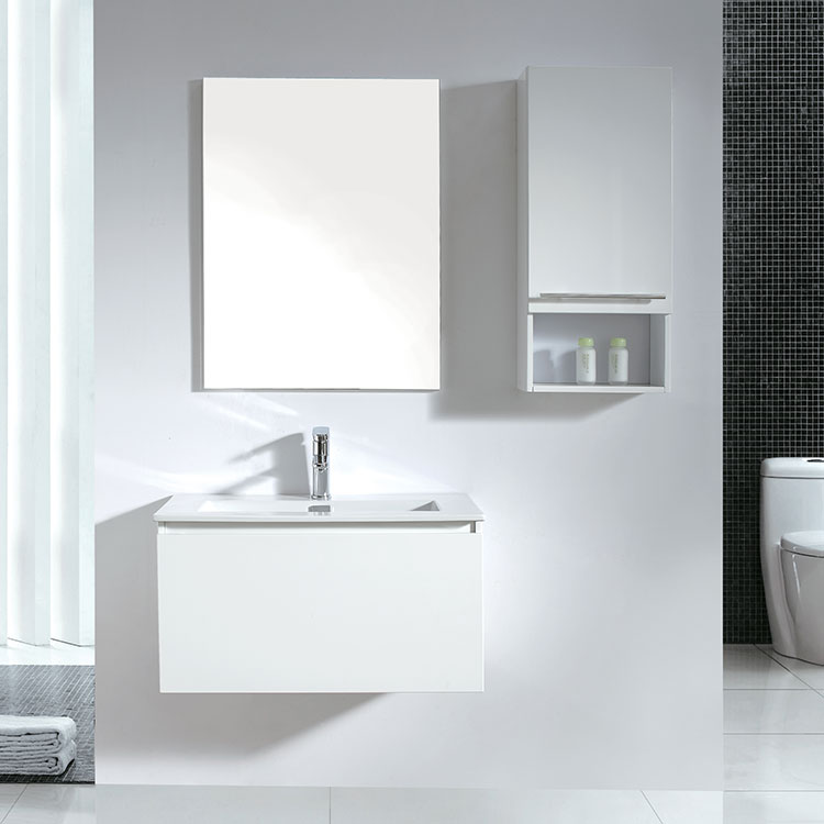 Modern Style New Product Bathroom White Vanity Unit