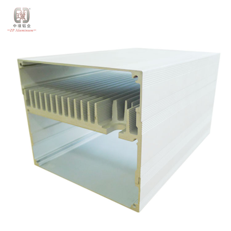 80mm custom aluminium pin heat sink and led extrusion