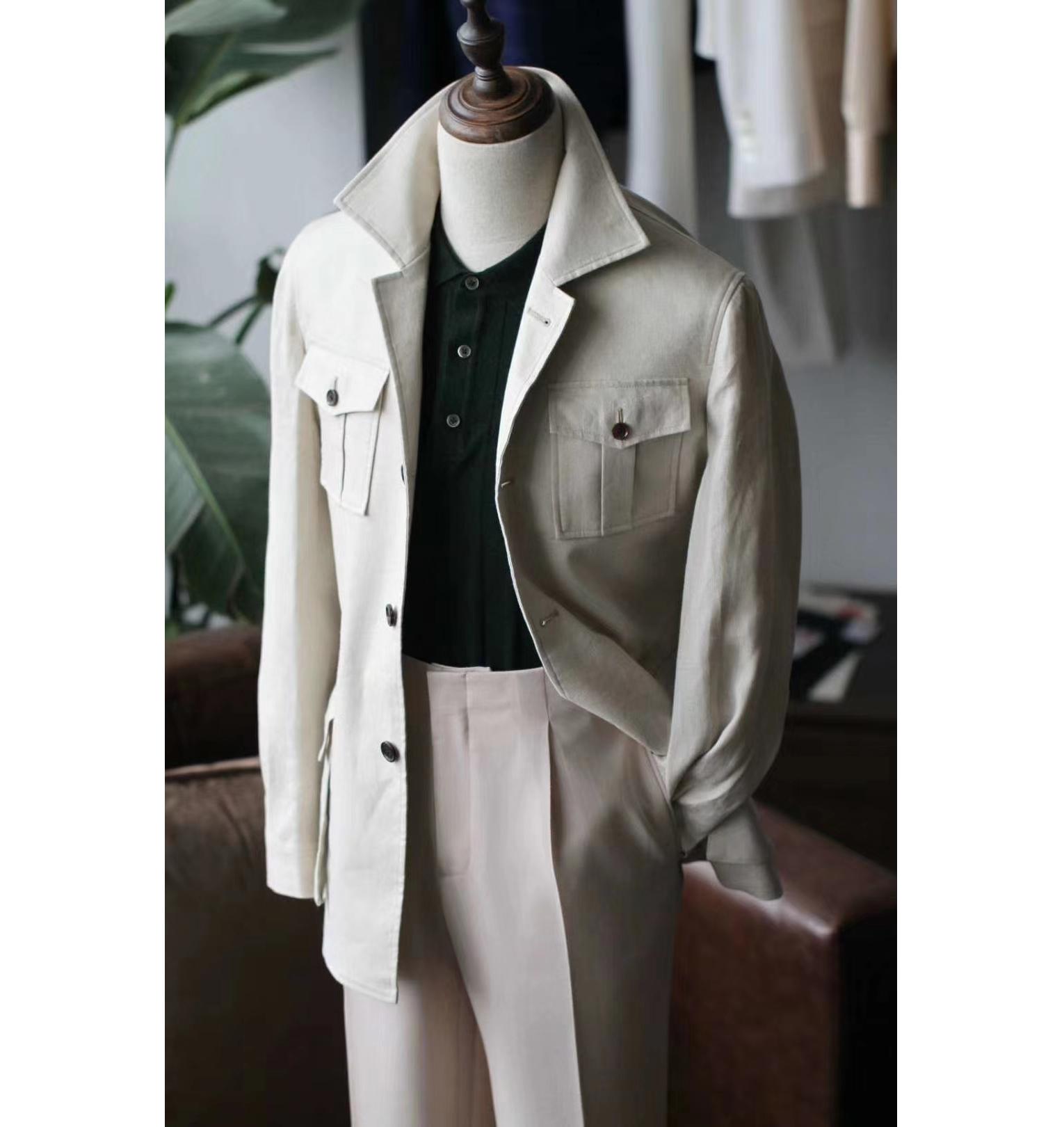 2020 New Fashion Tailored Wool Safari Suits For Men Buy Safari Suit Blazer Sex Punjabi Design For Men Product On Alibaba Com