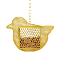 Metal animal shape bird feeder hanging garden decoration hanging hummingbird feeder