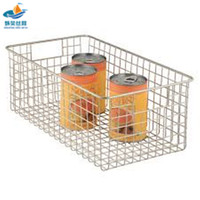 customized stainless steel wire mesh basket