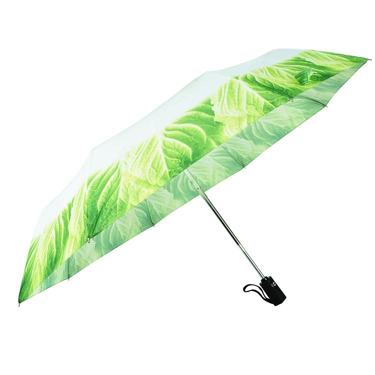 EnnE Umbrella Vegetable Foldable Compact Umbrella Rain Travel Umbrella Windproof 8 Ribs UV Protection