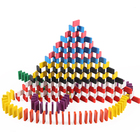 Wholesale Wooden Domino Sets Gifts Toy for Children and Adults 120 PCS4.4 *2 *0.7cm building blocks