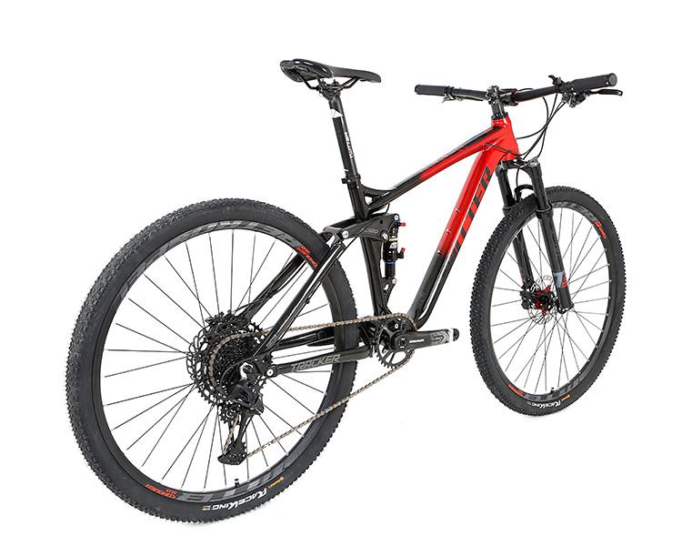 독수리 12 스피드 성인 알루미늄 프레임 27.5 29 인치 전체 서스펜션 산악 자전거