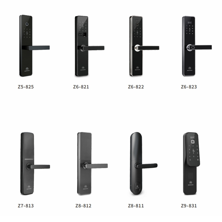 High quality security keypad password door lock Smart anti-theft fingerprint home door lock