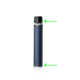 Custom 0.5ml ceramic heating element electronic cigarette smoke cbd vape pen set tanks cartridge and battery kit without oil