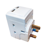 Uk International Universal <span class=keywords><strong>Travel</strong></span> Power Adapter