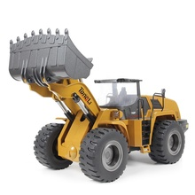 Tongli 1583 Speelgoed Rc Wiellader 1/14 Schaal Heavy Metal Radio Control Bouw Model <span class=keywords><strong>Auto</strong></span>