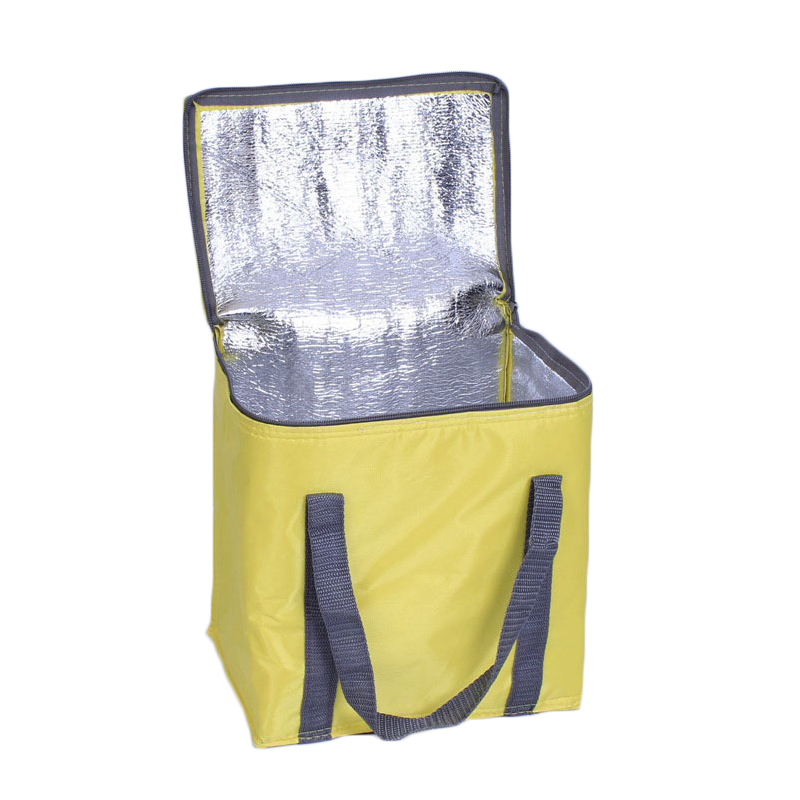 Eco-friendly Custom Reusable Thermal Extra Large Food Delivery Oxford Cooler Lunch Box Bag