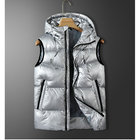 winter new nylon windproof smart heated jacket thermal battery powered usb self heated work puffer vest for men and lady