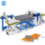 Automatic new design plywood edge cutting saw with laser