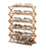 Hot sale stackable wooden shoe rack