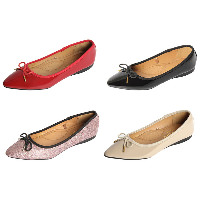 Fashion design dames platte schoenen en sandalen