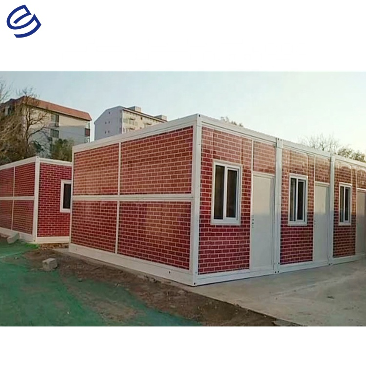 Factory price mobile folding house modular flat pack cheap tiny homes prefab shipping container china folding container house