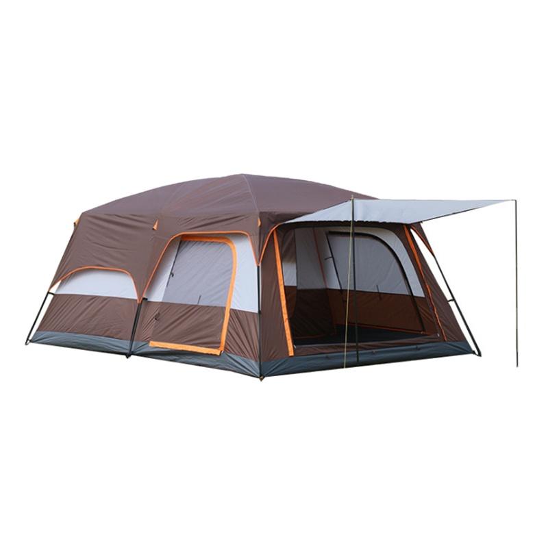 Tente de camping étanche pour 3 à 4 personnes, grande taille 210T, vente en gros, livraison gratuite