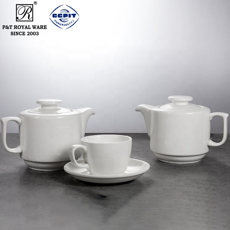 supplier buffet ceramic tea pot
