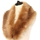 Wholesale Detachable Genuine Real Mink Fur Collar For Women's Jackets