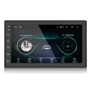 Double din Head Unit Autoradio Play 7 inch Touch Screen 2 din GPS 1+16G Universal Player Android Car Radio