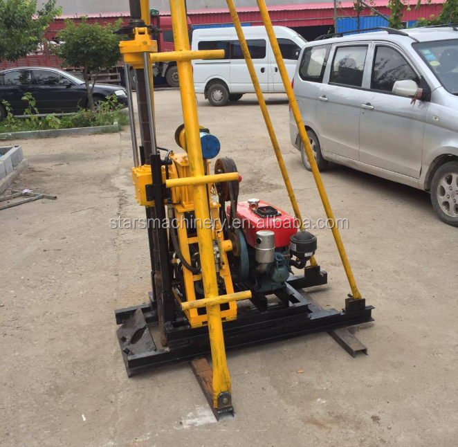 30m Lightweight Portable Core Water Well Drilling Rig ...