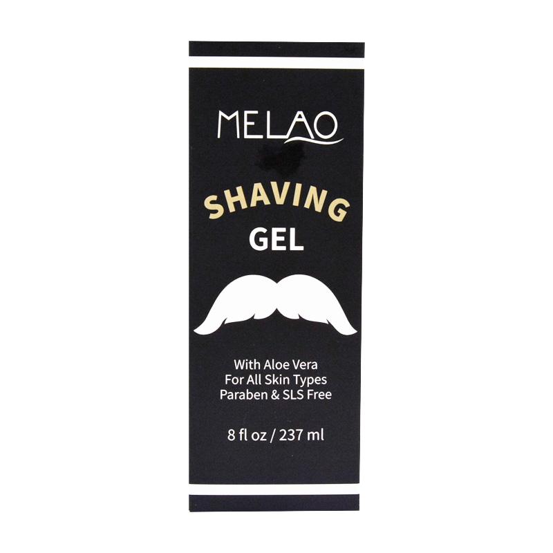 Фирменный индивидуальный Гель для бритья для парикмахера, мужской Гель для бритья, элегантность, чистка бороды, классный Гель для бритья