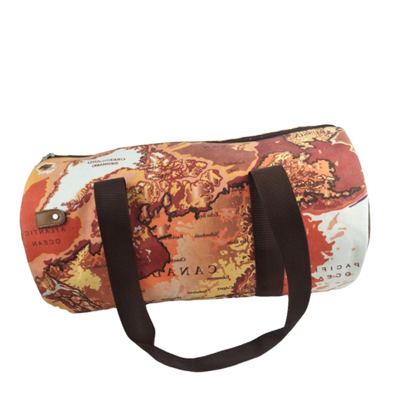 Çevre dostu yıkanabilir kağıt gym spor seyahat çantası kıyafet dolabı çanta