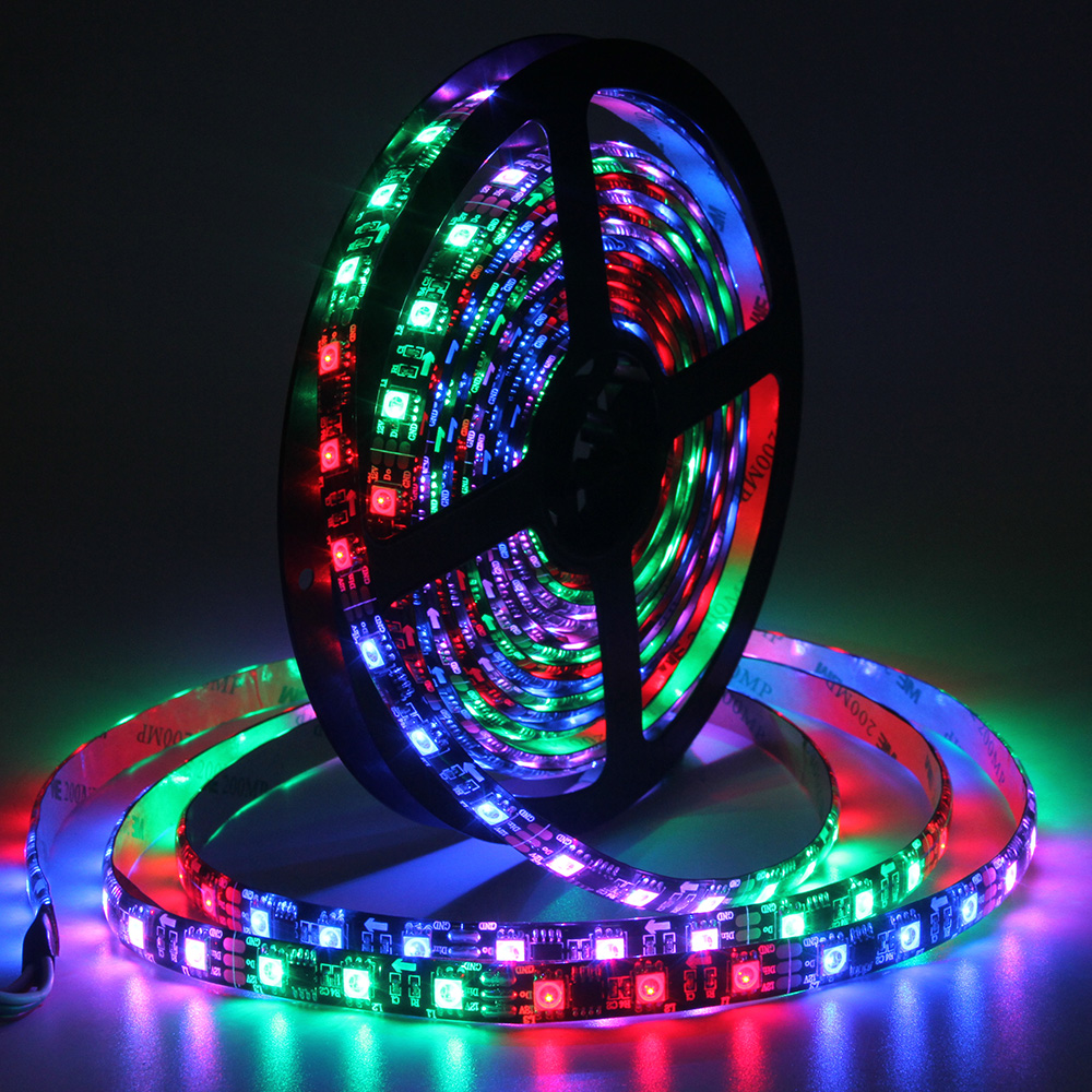Digital Addressable Programmable Pixel Tape Flexible RGB Led Strip Light