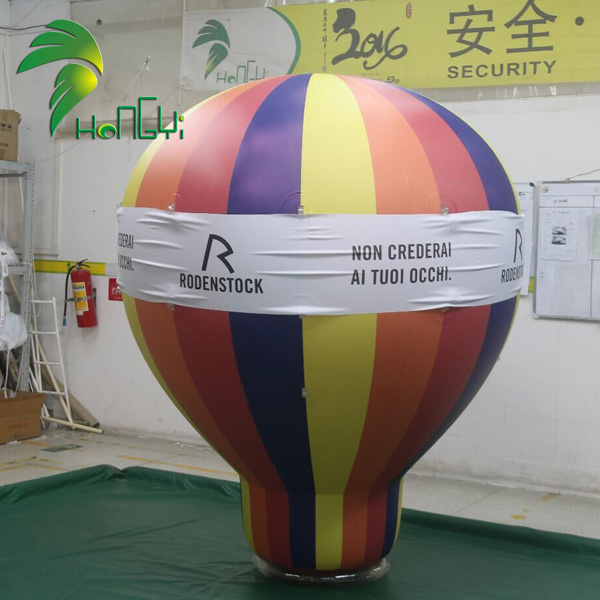 Outdoor Advertising Inflatable Ground Balloon Hot Air Balloon For Event Decoration