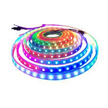 WS2815 30/60/144 Leds/M Fleksibel Penuh Warna Piksel LED Strip Ringan <span class=keywords><strong>12</strong></span> <span class=keywords><strong>V</strong></span> RGB Berurutan LED Strip