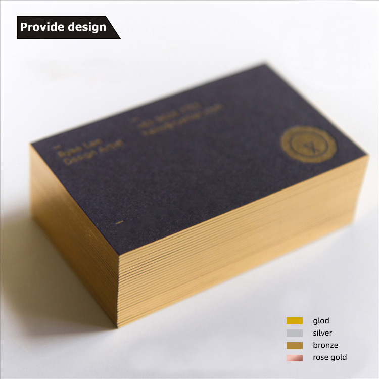 printing companies luxury promotion custom round corner blank premium print cardboard paper visiting business card wholesale