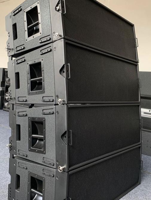 Pro ses 12 inç pasif hat dizisi 3 yollu sıralı hat hoparlör w8lc ses sistemi