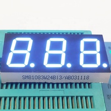 "Grote Digitale Teller Led Display 0.56 ""3 Digit Led Display 7 Segment <span class=keywords><strong>Blauw</strong></span>"