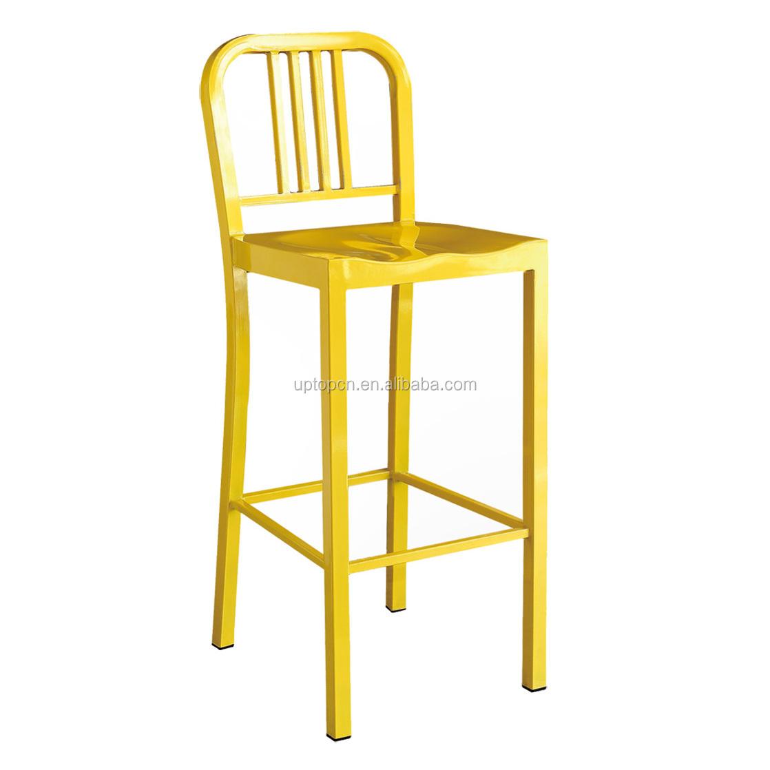 product-Uptop Furnishings-Sample design wood seat metal frame chair-img-8