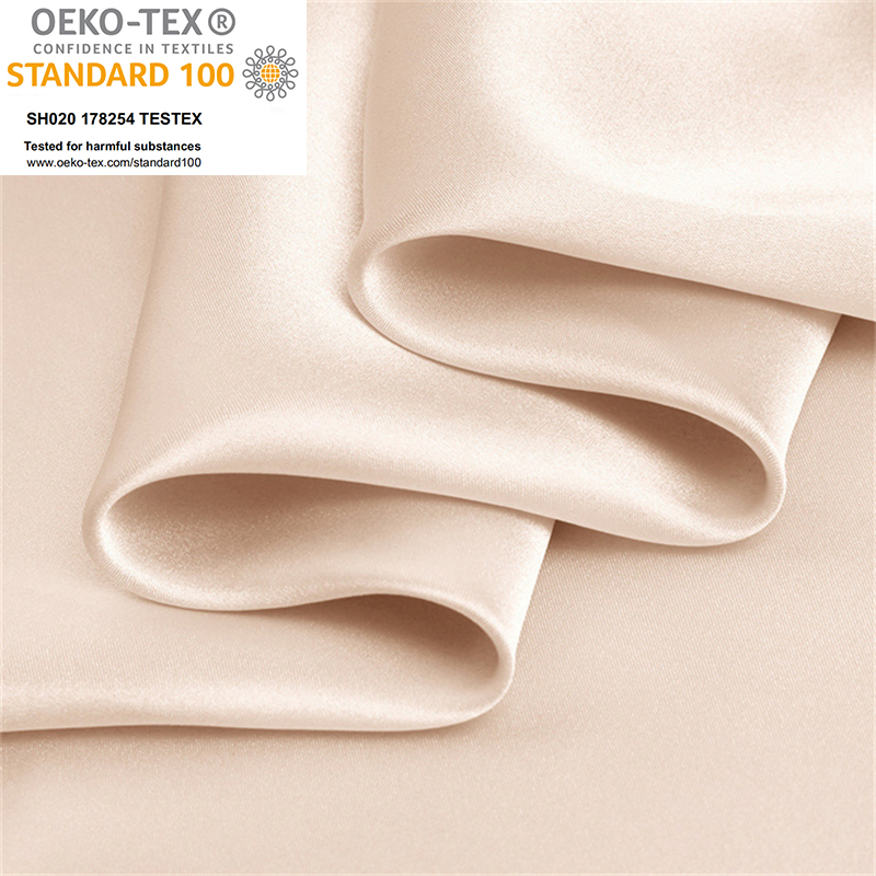 Wholsale In Stock 22 Momme 100% Pure Mulberry Silk Satin Fabric