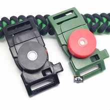 Groothandel Paracord <span class=keywords><strong>Armband</strong></span> Whistle Sluiting Met Fire Starter