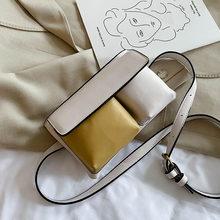 Женская нагрудная сумка, маленькая сумка из искусственной кожи на плечо, женская модная поясная сумка, Женская винтажная поясная сумка для ...(Китай)