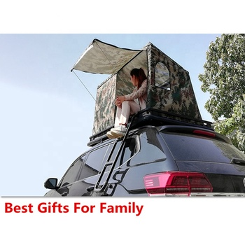 On Sale Car Roof Top Tent Campers Hard Car Tent Large Space Hard Roof Tent